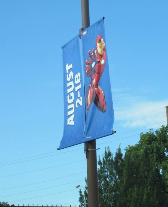 Iron Man banner!