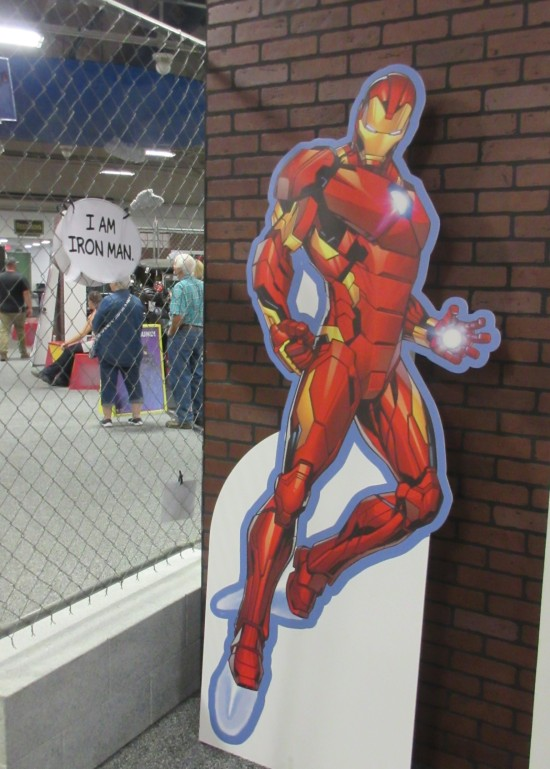 Iron Man with motto!