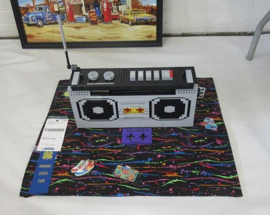 Lego boombox!