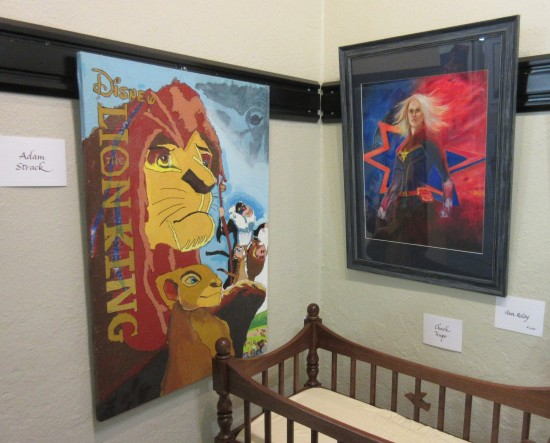 Lion King and Captain Marvel!