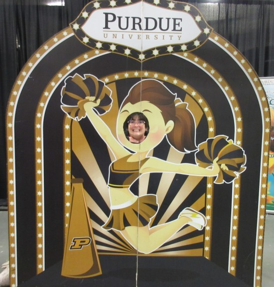 Purdue cheerleader!