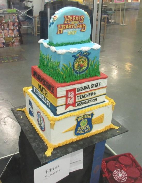 real heroes cake!