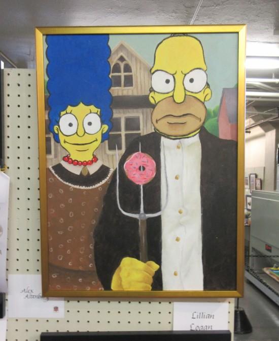 Simpsons Gothic!