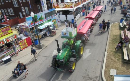 skylift tractor!