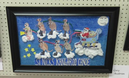 St Nick's Kangaroo Canoe!