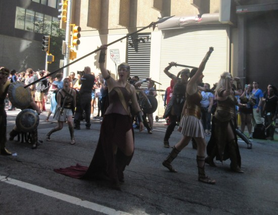 Amazons also!