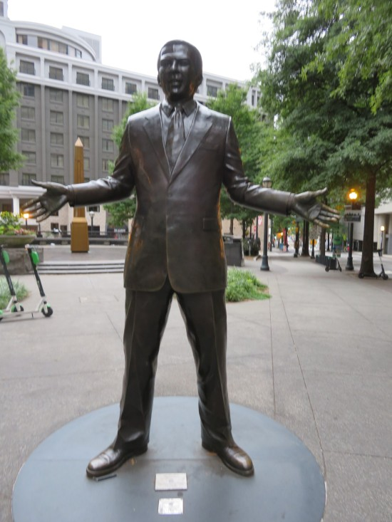 Andrew Young statue!