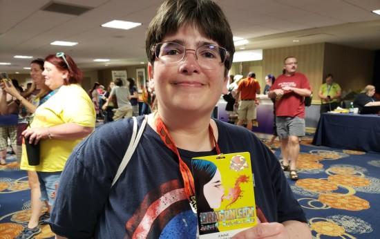 Anne badge!