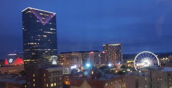 Atlanta skyline night!