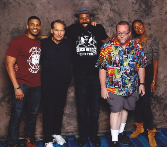 Black Lightning cast!