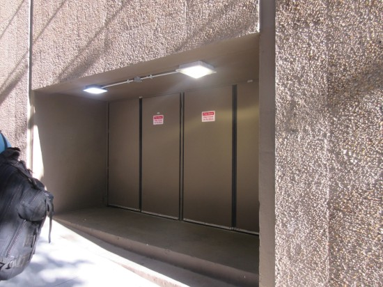 blank fire doors!