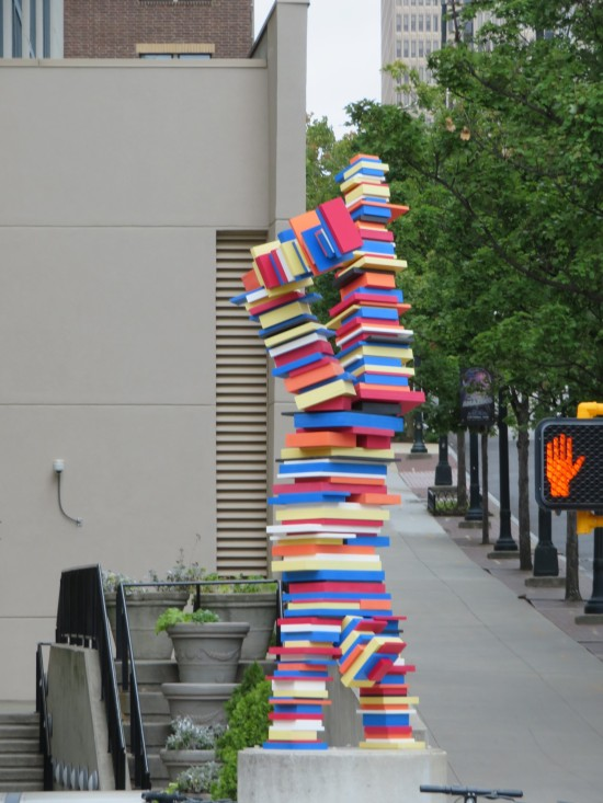 book sculpture!