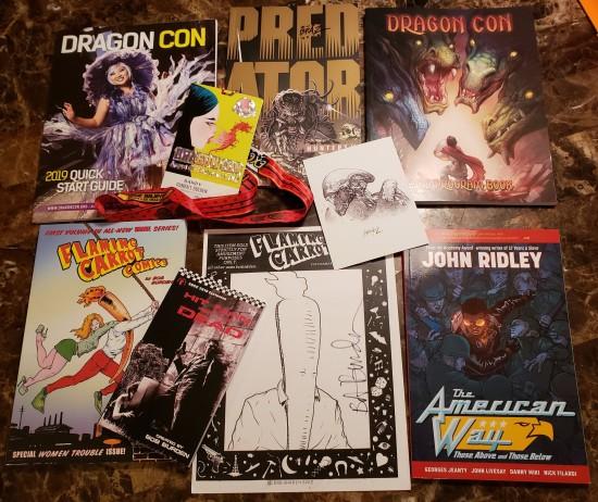comics loot!