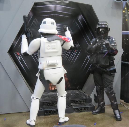dancing Stormtrooper!