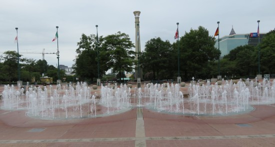 Fountain of Rings!