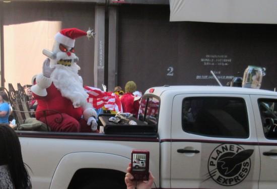 Futurama Santa!