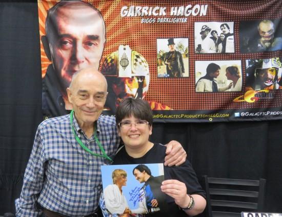 Garrick Hagon!