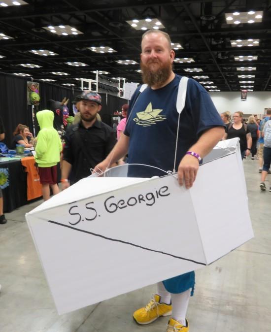 Georgie's boat!