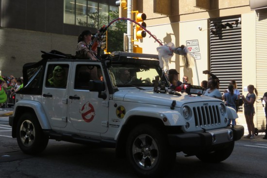 Ghostbusters jeep!
