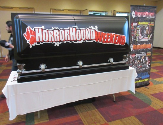 HorrorHound Weekend coffin!