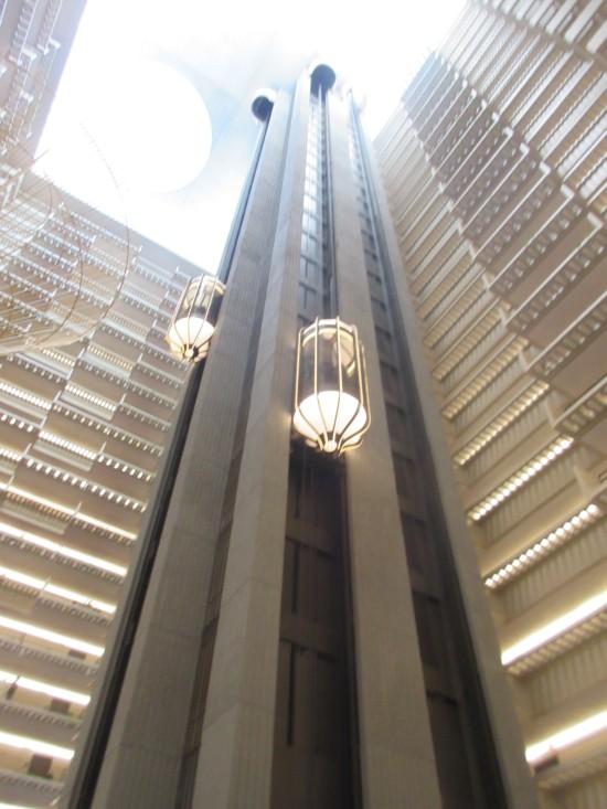 Hyatt elevators!