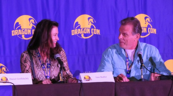 Jane Badler and Marc Singer!