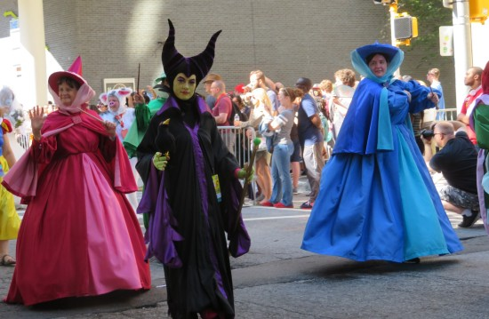 Maleficent and two fairies!