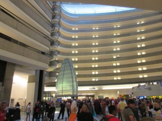 Marriott Atrium!