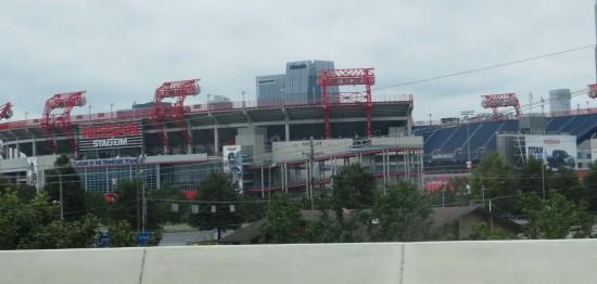 Nissan Stadium!