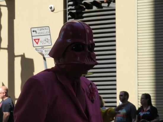 Pink Vader!