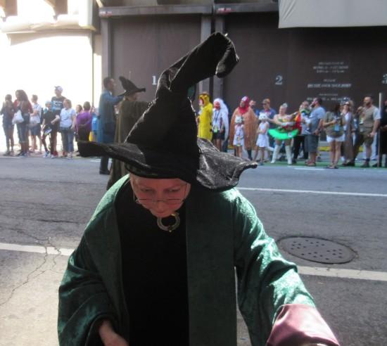 Professor McGonagall!