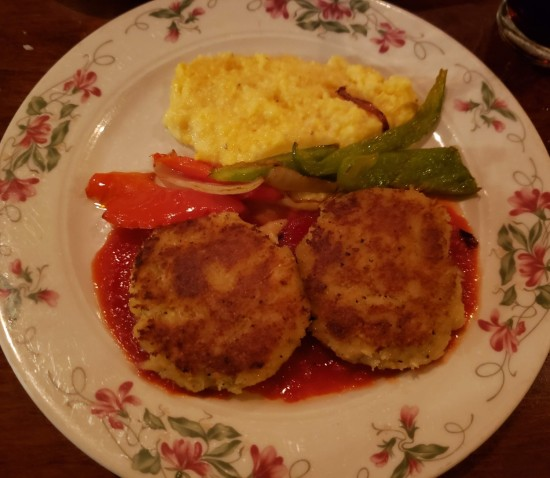Savannah crab cakes!