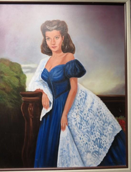 Scarlett O'Hara!