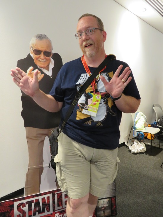 Stan Lee standee and me!