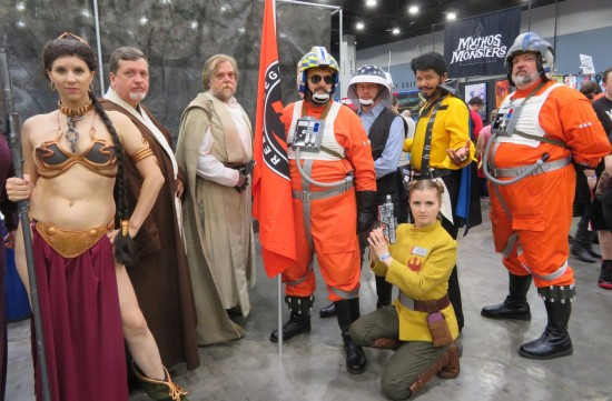 Star Wars group cosplay!