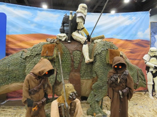 Tatooine diorama!
