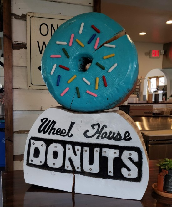 Wheel House counter donut!