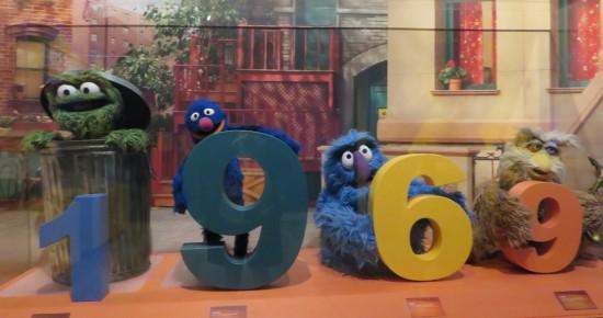 1969 Sesame Street!