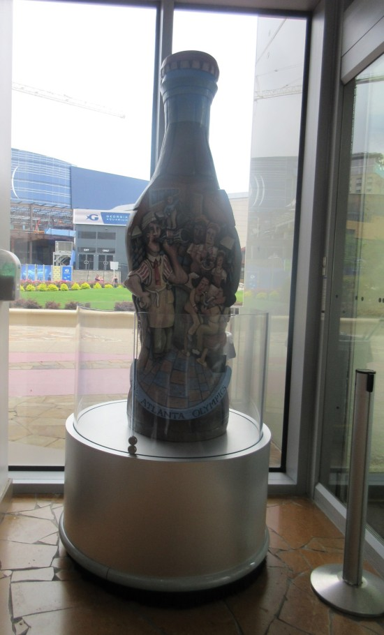 big art Coke bottle!