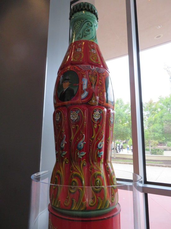 big Coke art bottle!