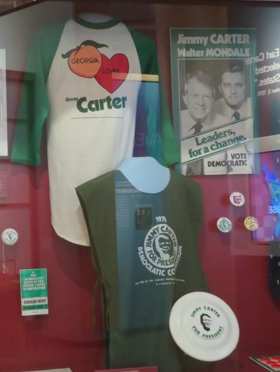 Carter campaign shirts!