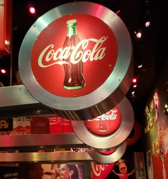 Coca-Cola circles!