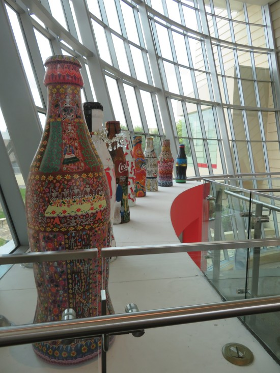 Coke art bottles line!