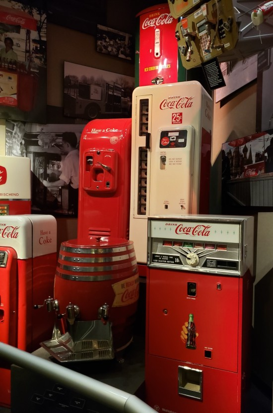 Coke machines!