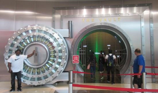 Coke outer vault door!