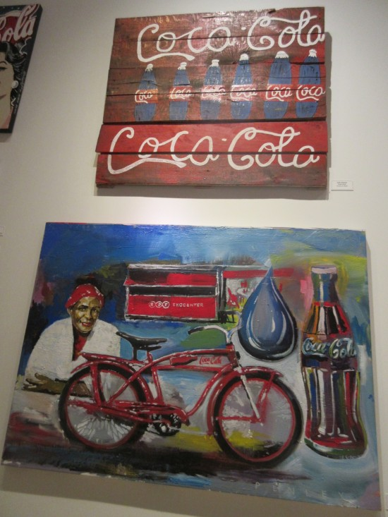 Coke paintings!
