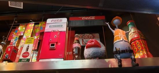 Coke props abroad!