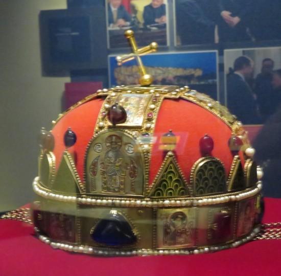 Crown of St. Stephen!
