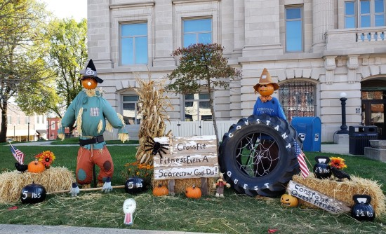 fitness scarecrows!