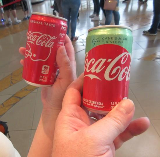 free Cokes!